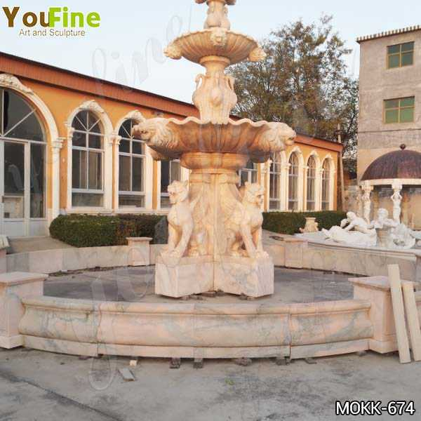 Large Animal Marble Water Fountain for Garden Decor Suppliers