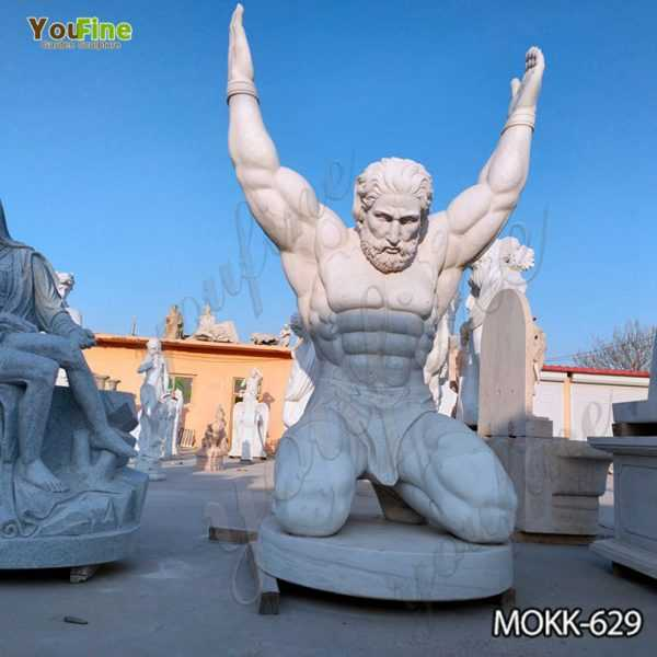 Life Size Marble Atlas Man Statue Suppliers
