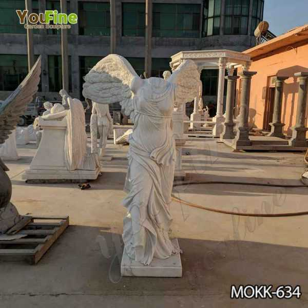 Life Size Marble Winged Victory of Samothrace Statue for Sale