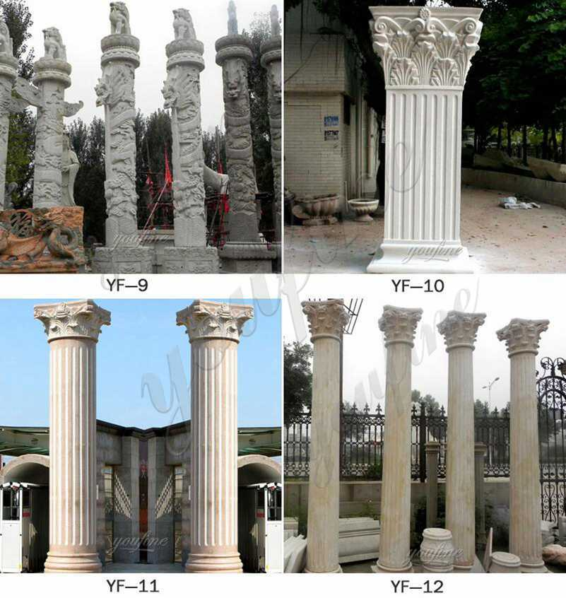 Marble Column for Home Decor