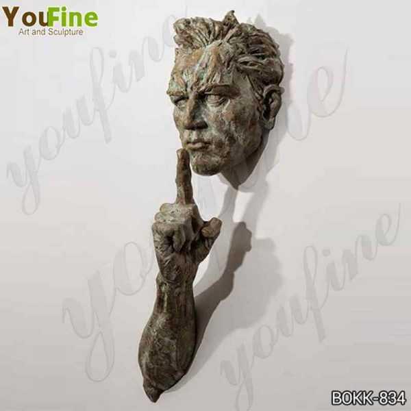 Modern Metal Wall Matteo Pugliese Bronze Sculpture Suppliers BOKK-834
