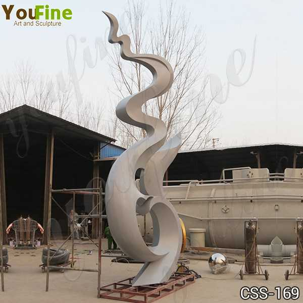 Stainless Steel Outdoor Sculpture Manufacturer