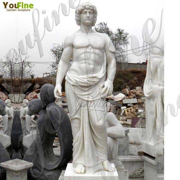 Where to Buy Classic Greek Art Marble Man Statue for Garden Decoration MOKK-76