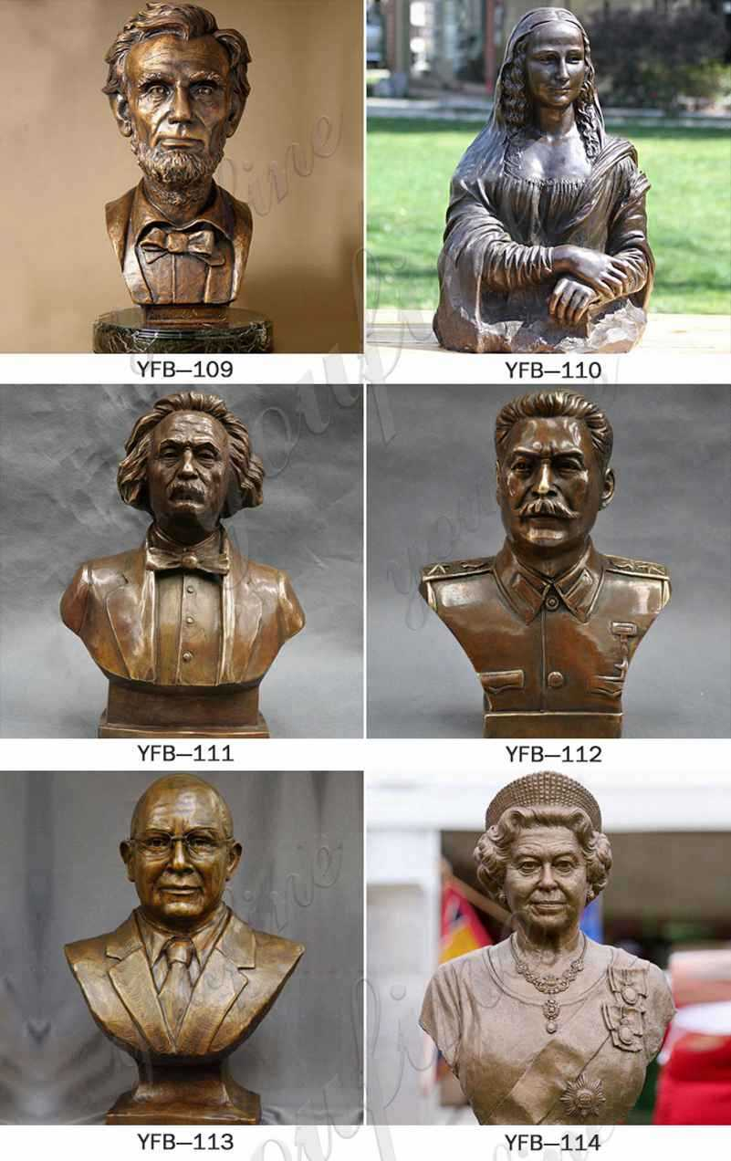 bust statues home decor