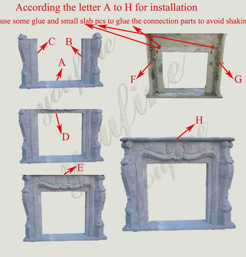mantels for stone fireplaces for sale