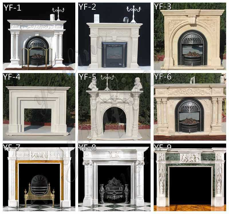marble fireplace surrounds