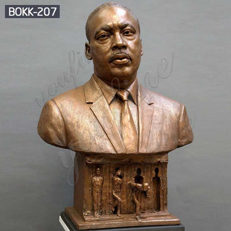 Famous Bronze Bust of Martin Luther King Jr. for Sale BOKK-207