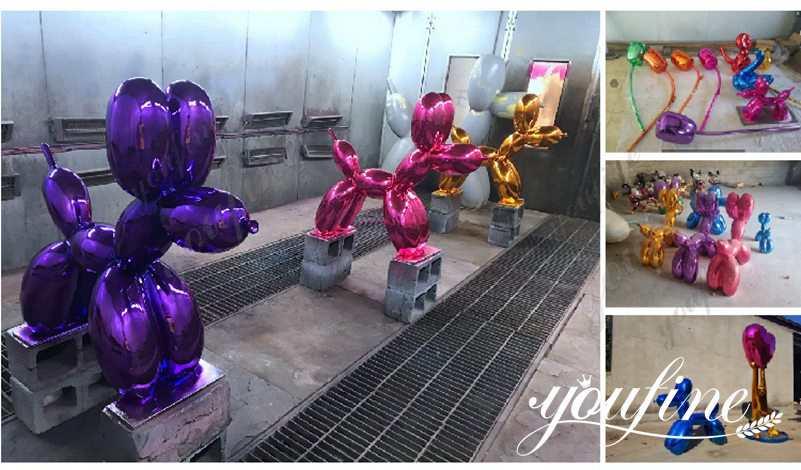 metal balloon sculpture show