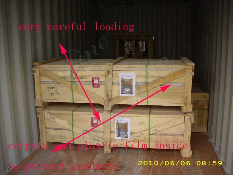 packing of black marble fireplace surround