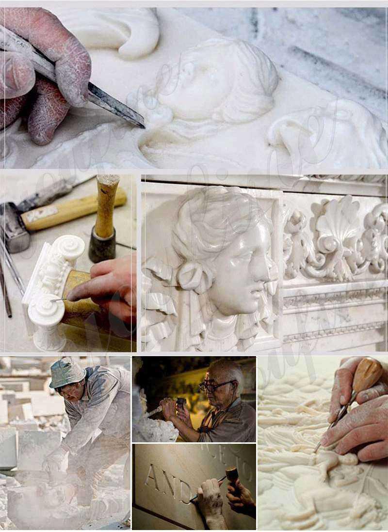 process of Natural Marble Column Pedestals Manufacturers