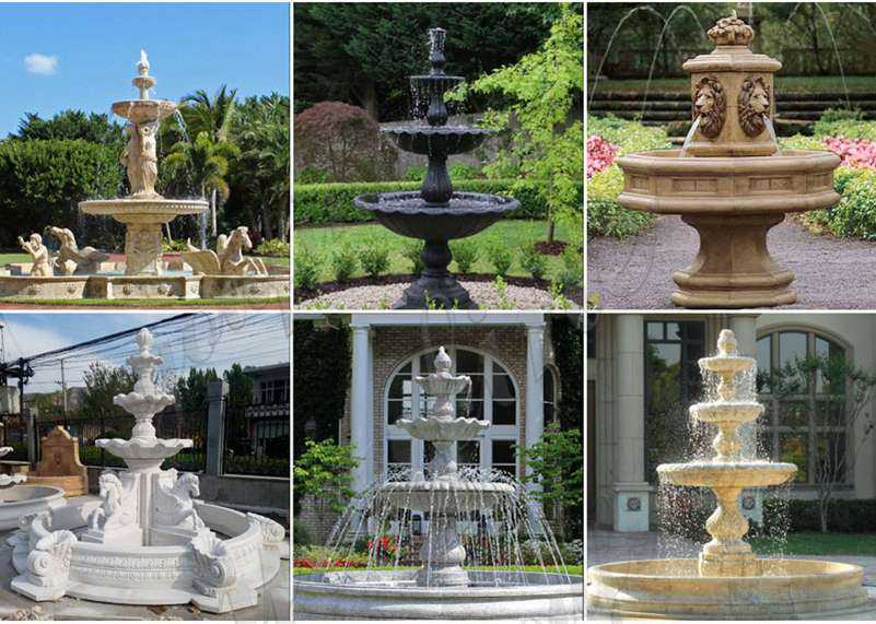 5 Things to Consider before Installing an Outdoor Water Fountain