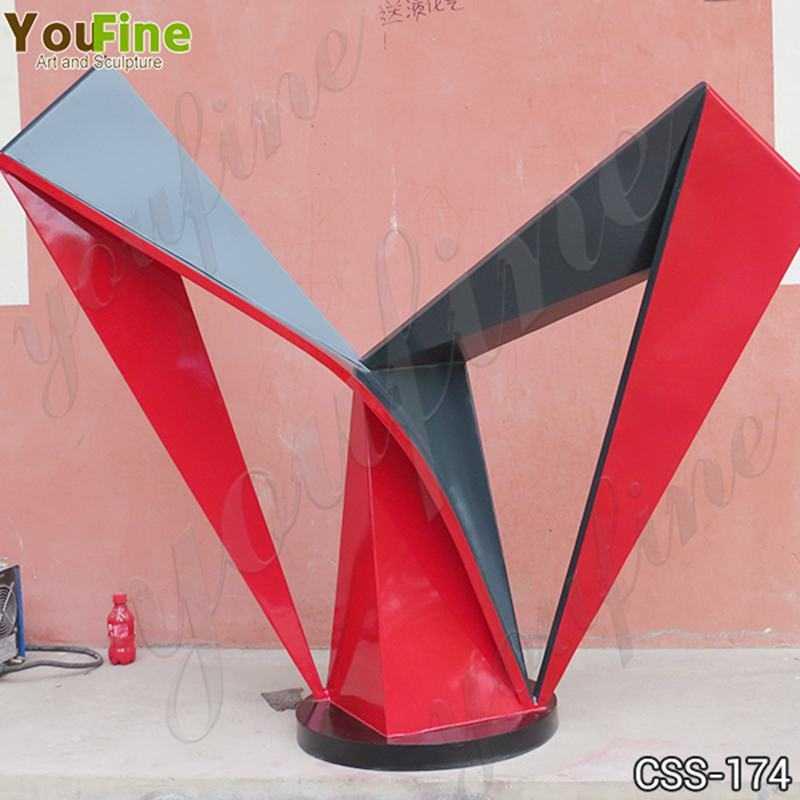Beautiful Outdoor Stainless Steel Modern Sculpture Manufacturers CSS-174