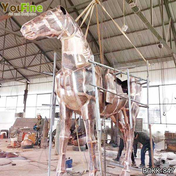 Bronze Horse and Rider Statue Statue Suppliers