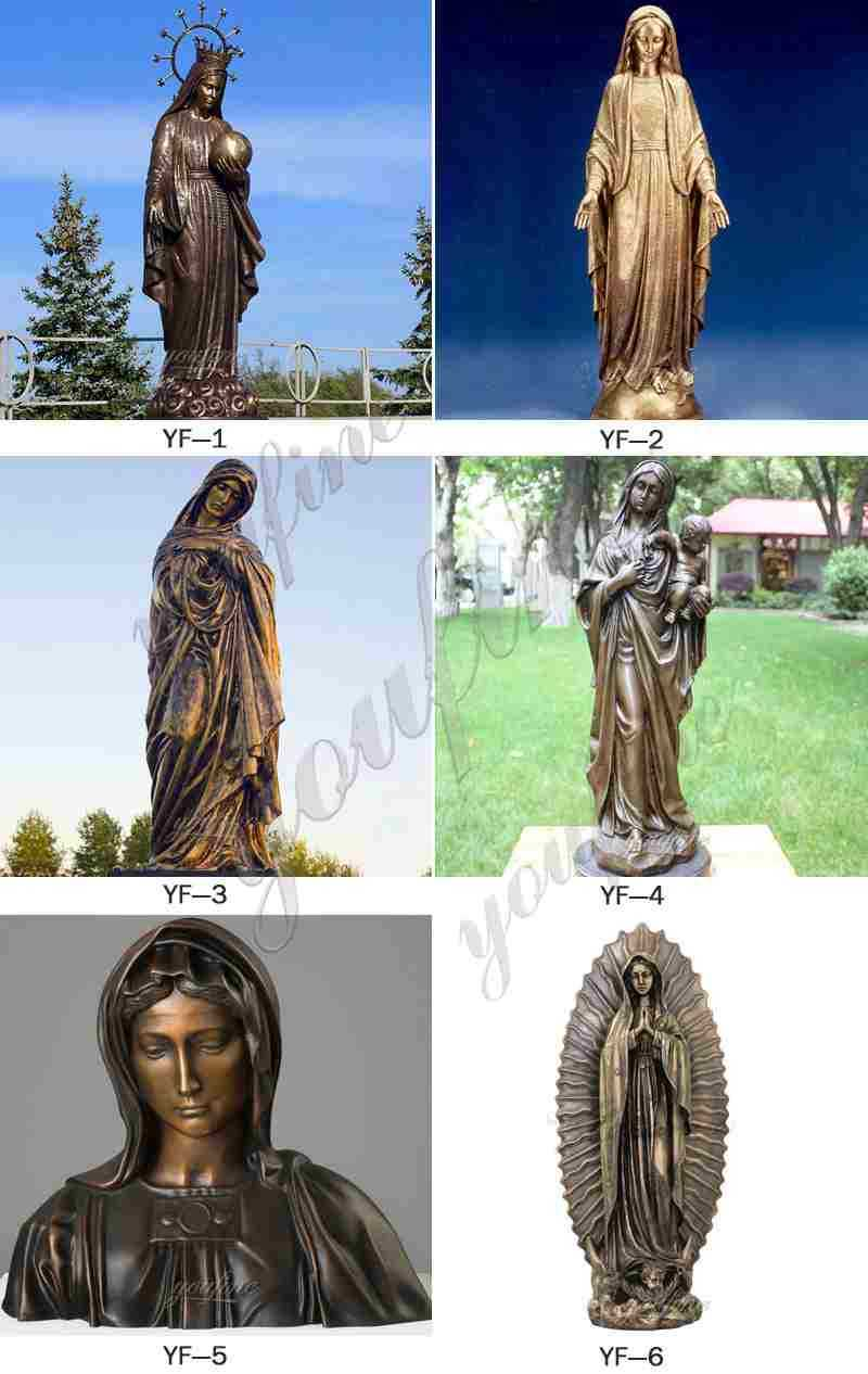 Bronze Religious Sculptures