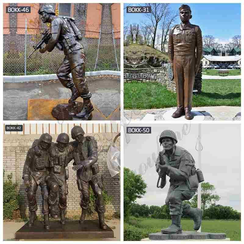 Bronze Soldier Statue in War on Terror