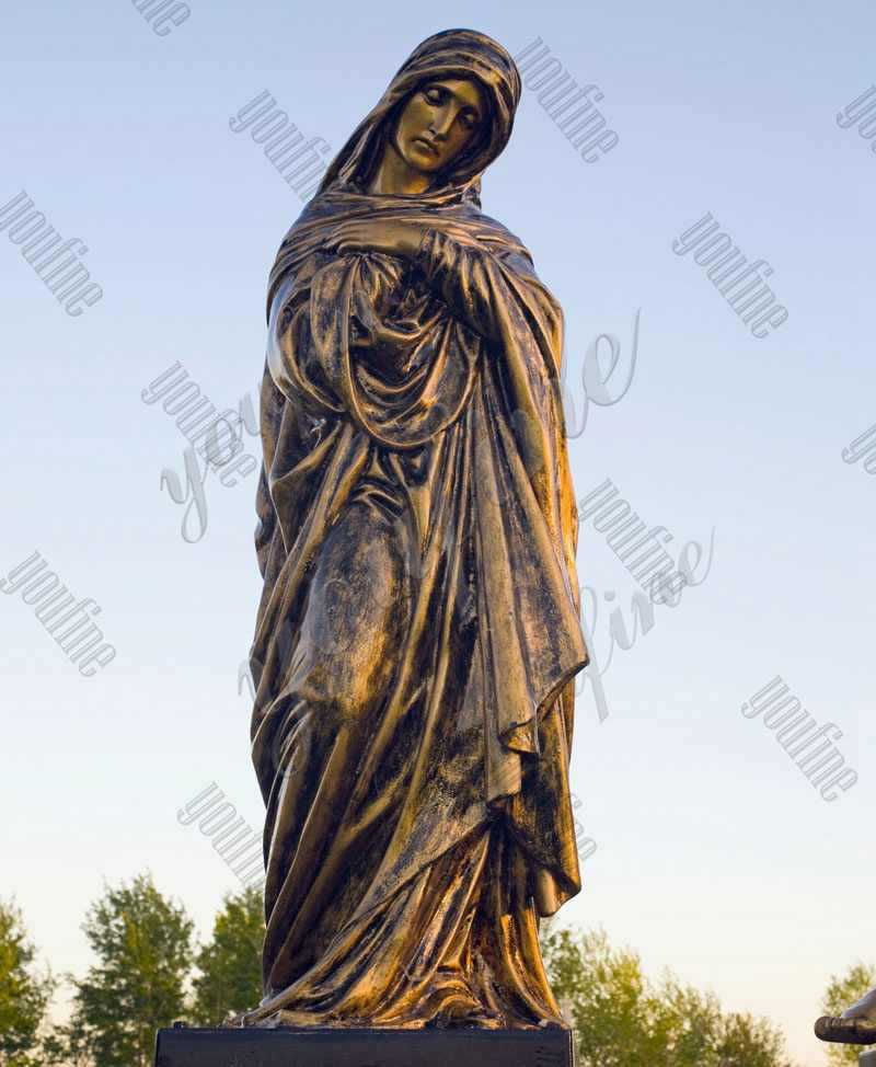 Casting Bronze Mary Sculpture