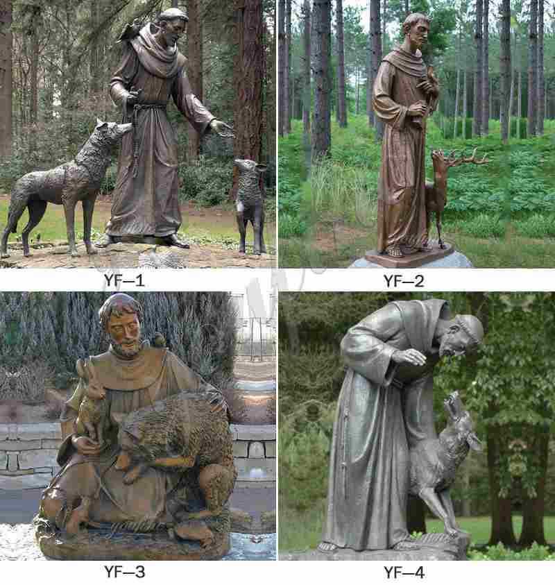 Catholic Bronze Sculptures