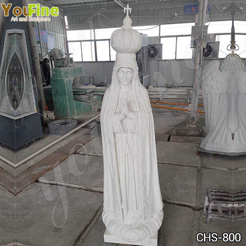Classic Catholic Our Lady of Fatima Marble Statue from Portugal Suppliers CHS-800