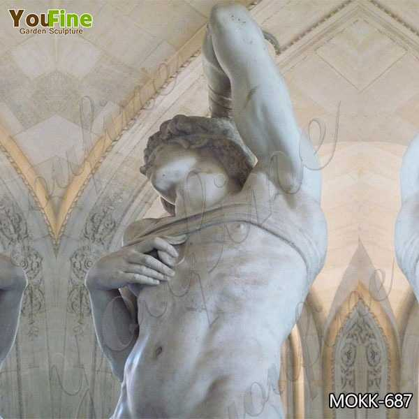 Dying Slave Marble Statue by Michelangelo