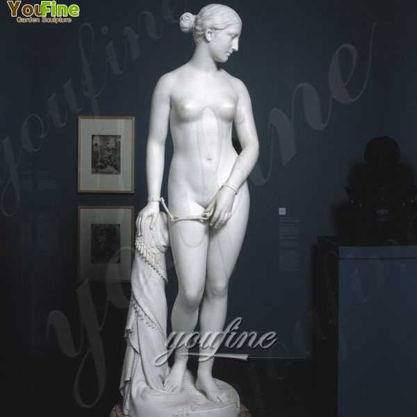Exquisite Famous Art Nude Woman Statue The Greek Slave for sale MOKK-219