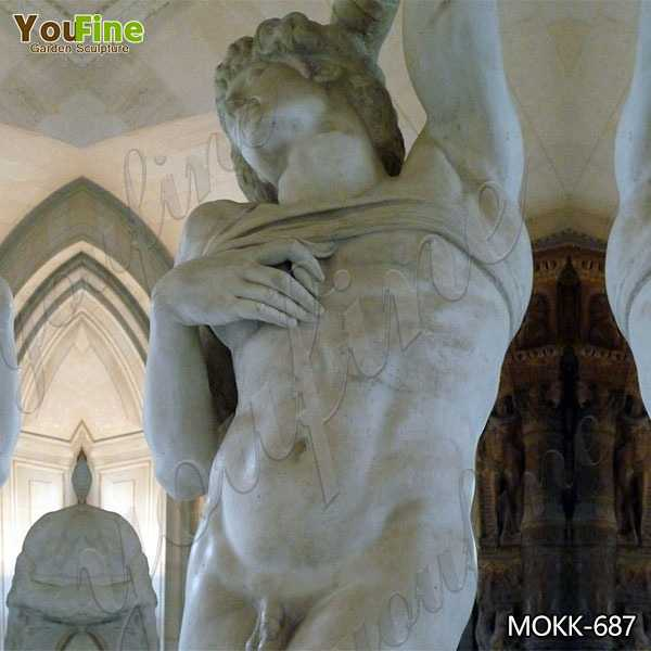 Famous Dying Slave Marble Statue by Michelangelo Replica