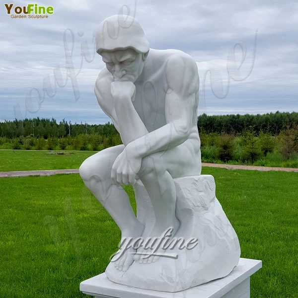 Hot Sale World Famous Marble The Thinker Sculpture for sale MOKK-218