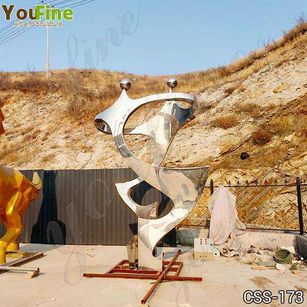 High Polished Stainless Steel Metal Sculpture Suppliers