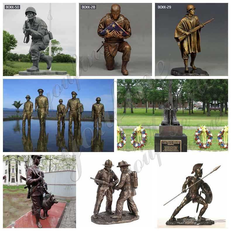 Life Size Bronze Dick Winters Statue