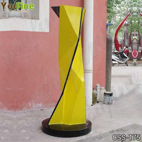 Life Size Outdoor Modern Metal Sculpture Fabrication