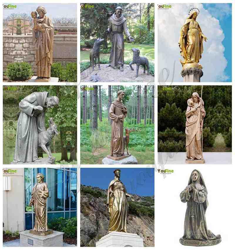 Religious Casting Bronze Garden Statues