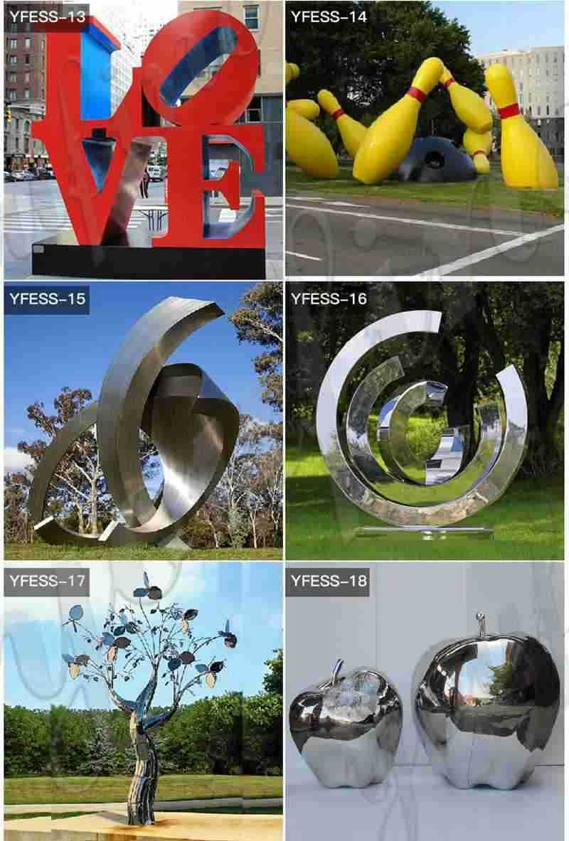 Stainless-Metal-Sculpture-for-Sale