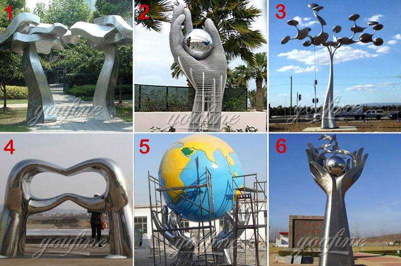 Stainless Steel AbstractSculpture Project Suppliers