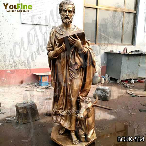 Wholesale Life Size Religious Casting Bronze Garden Statues for Home Decor BOKK-534