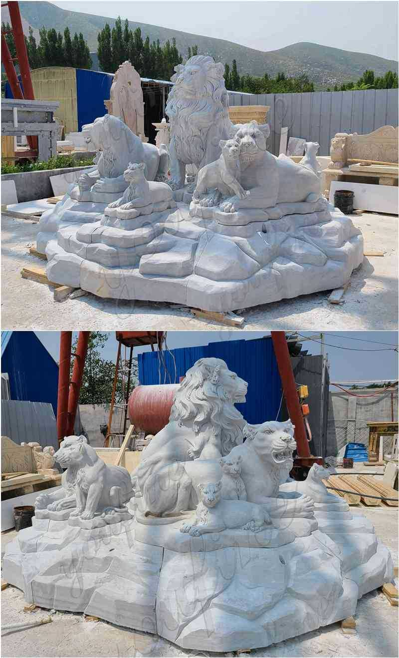 lion statue for home