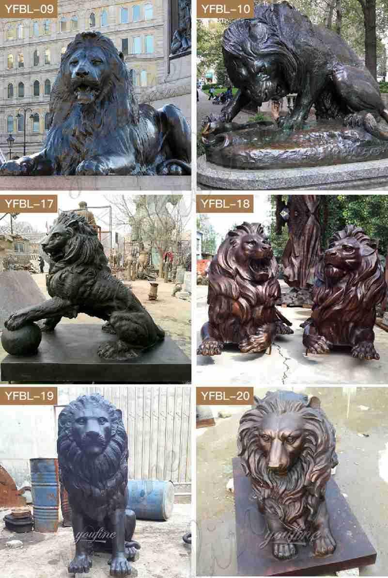 lion statues for front porch