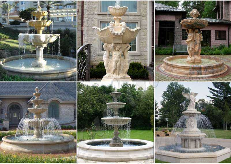 tiered garden fountain for sale