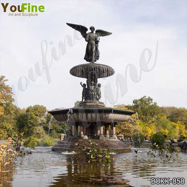 Antique Bronze Fountain with Angel Statues Suppliers