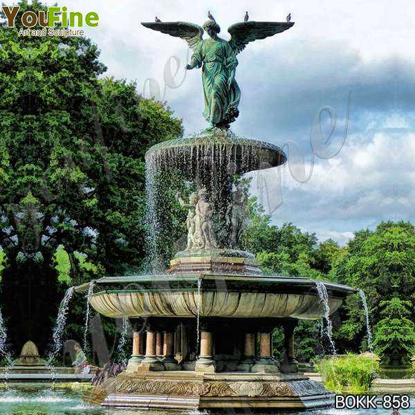 Antique Large Bronze Fountain with Angel Statues Suppliers