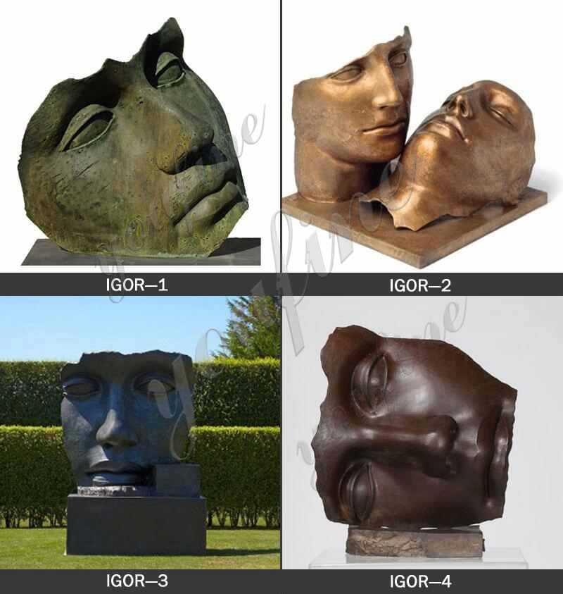 Bronze Igor Mitoraj Sculptures Replica