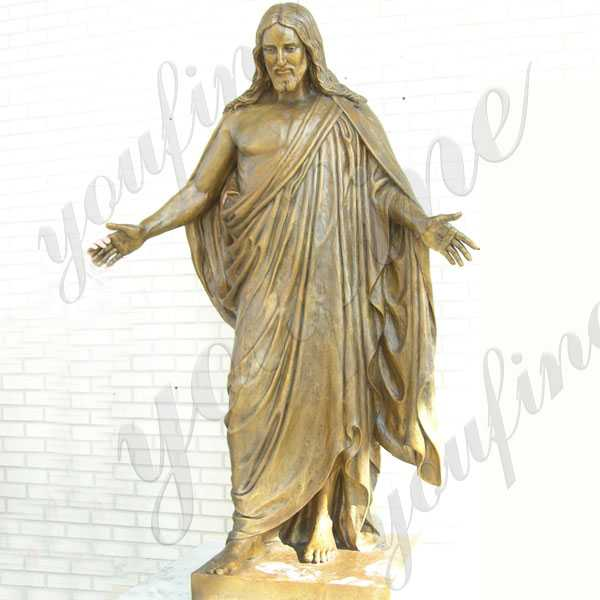 Bronze Jesus Sculpture from China Factory-The Best Decoration for Church