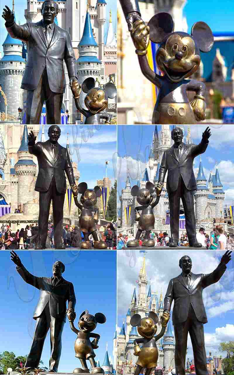 Bronze Partner Statue Replica