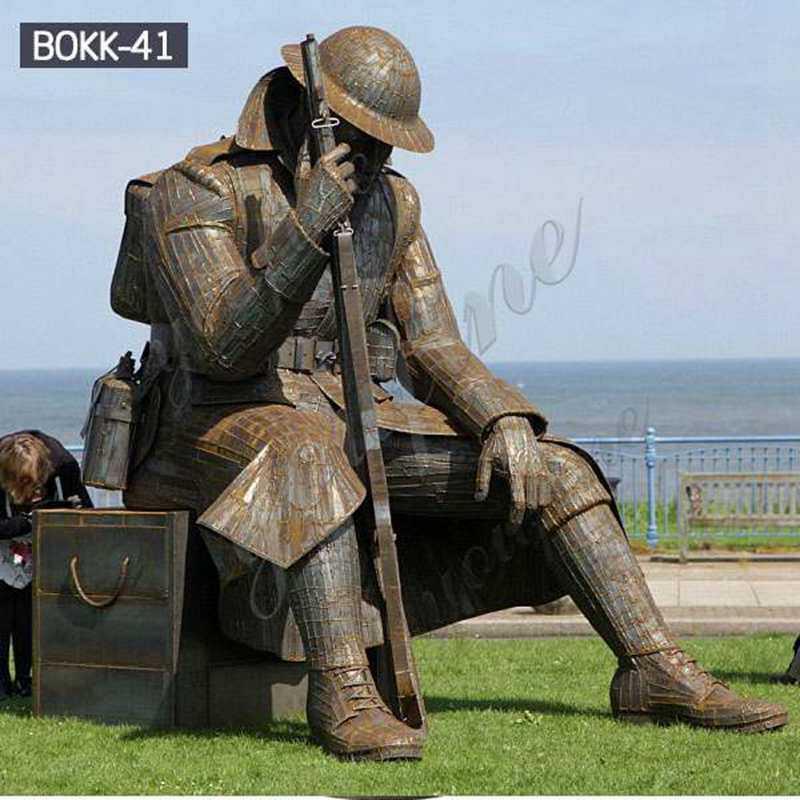 Bronze Soldier Memorial Statues
