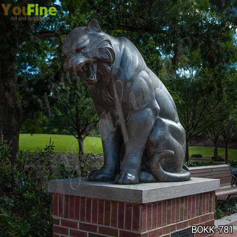 Bronze Tiger Statue