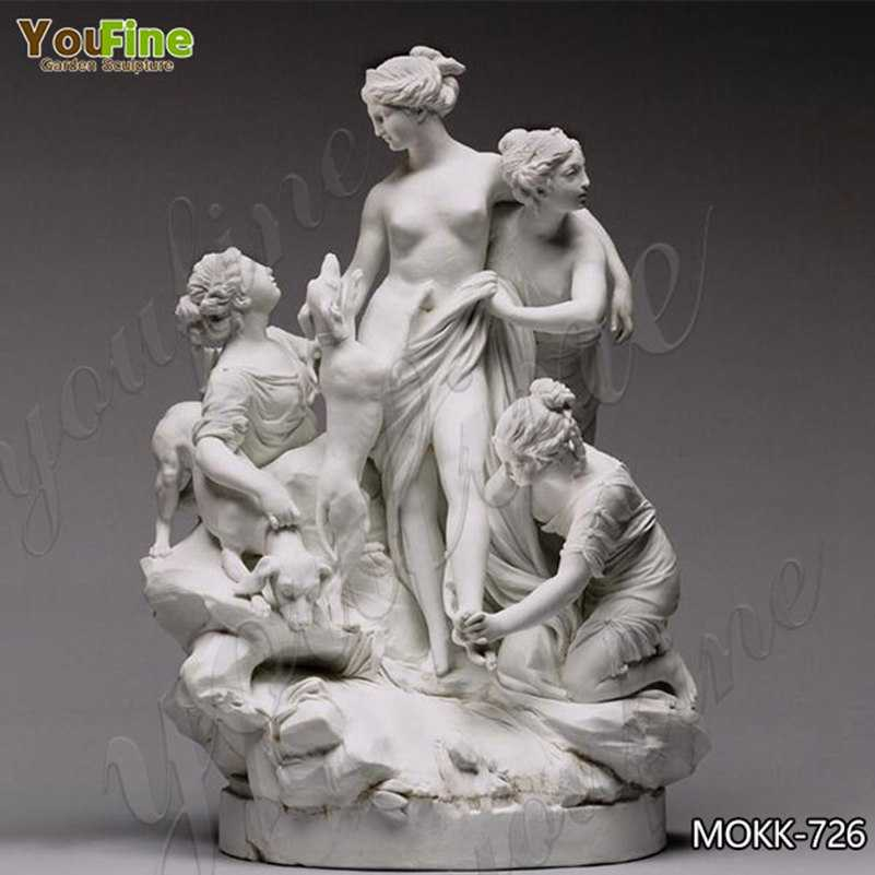 Classic Diana at the Bath Marble Statue Replica for Sale MOKK-726