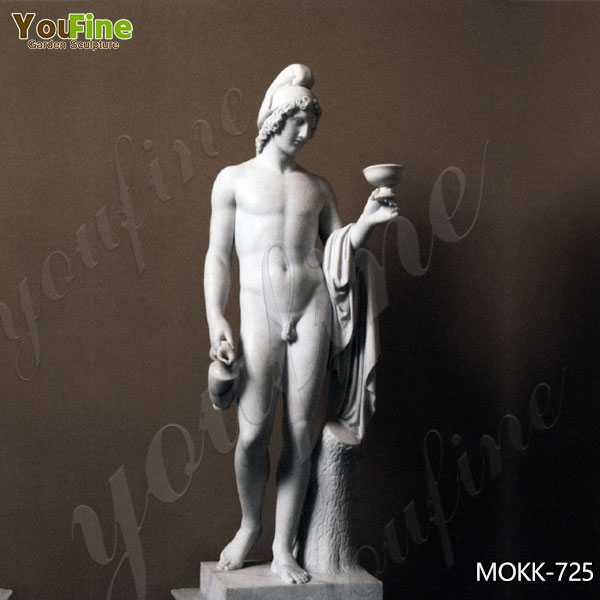 Classic Marble Ganymede Offering the Cup Statue