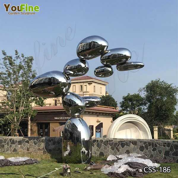 Contemporary Large Abstract Metal Lawn Sculpture Suppliers