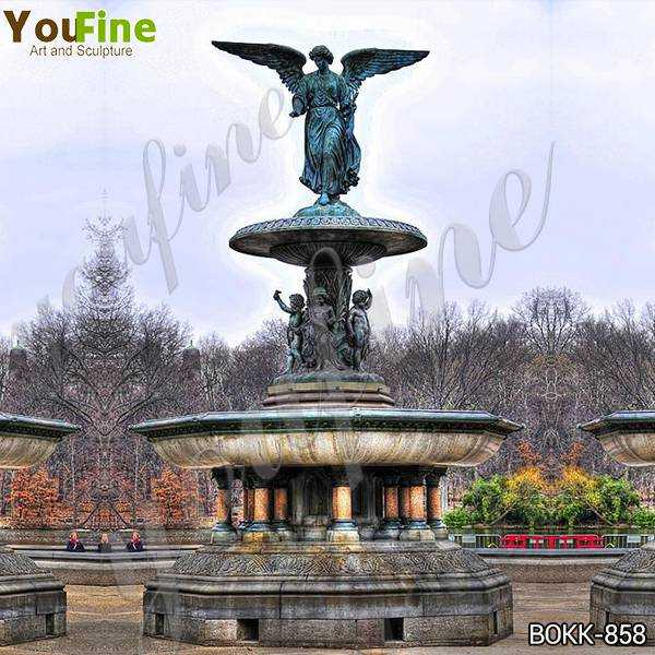 Large Bronze Fountain with Angel Statues Suppliers