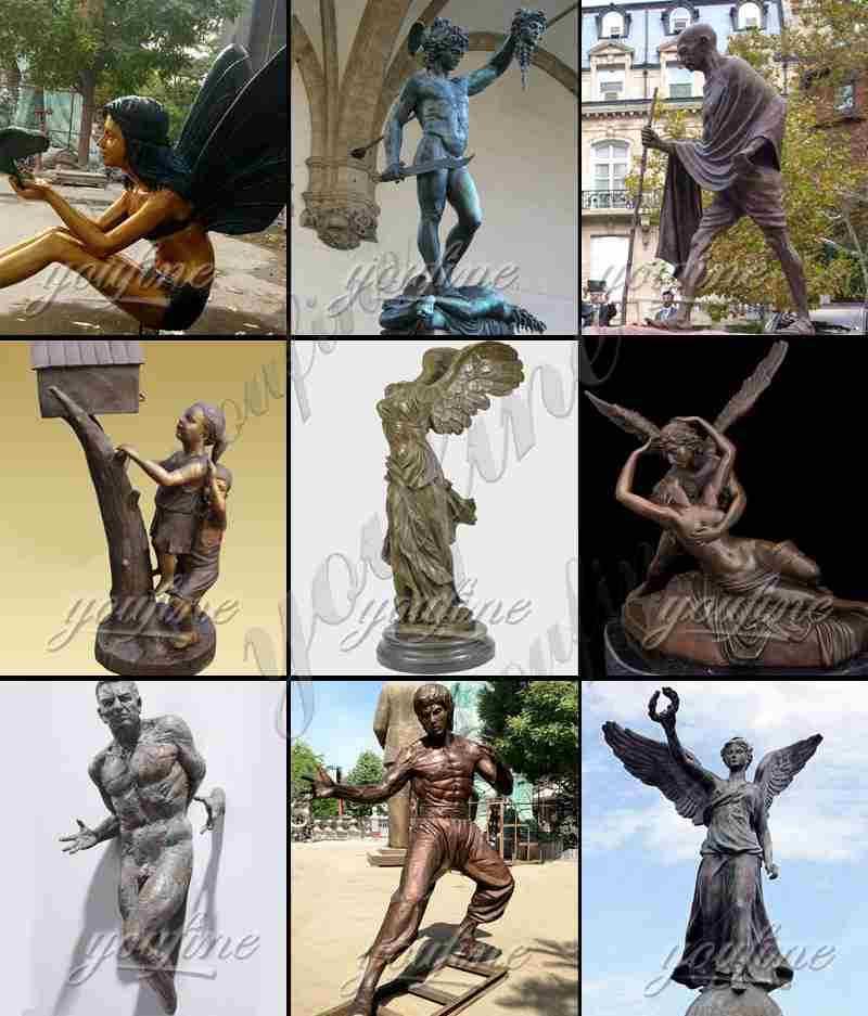Life Size Bronze Art Sculpture