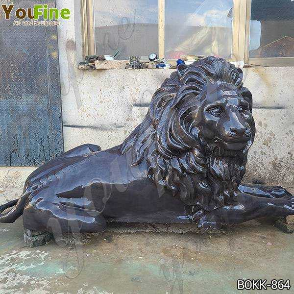 Life Size Bronze Lion Statue for Garden Decor Suppliers