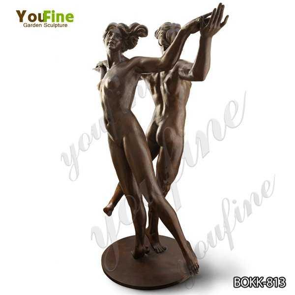 Life Size Classic Bronze Dancer Statue Design for Garden Manufacturer BOKK-813
